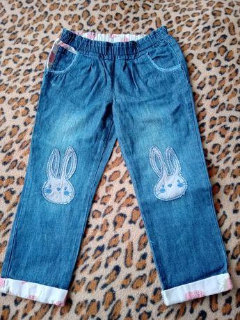 Штаны джинсы для девочки