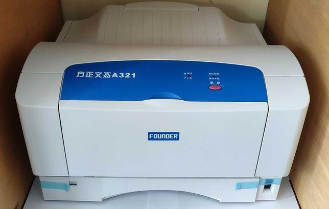 Новый лазерный принтер A3, A4 Founder a321, Новый картридж!