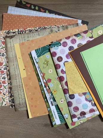 Kolorowy papier do scrapbookingu Journaling Bullet journal