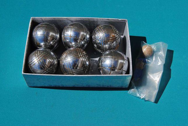 6 Bolas de Petanca antigas Made in France