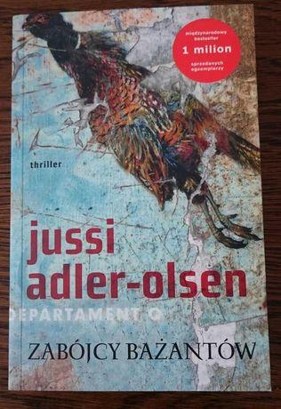 Zabójcy bażantów Jussi Adler-Olsen thriller/ kryminał