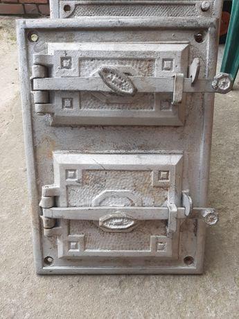 Drzwi drzwiczka żeliwne do pieca kominka