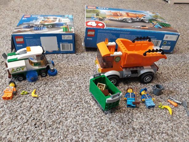 Lego  City śmieciarka, zamiatarka