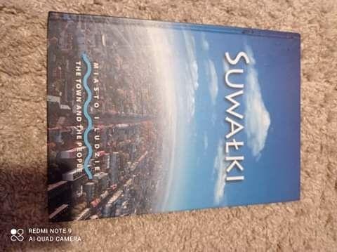 Książka Suwałki nowa