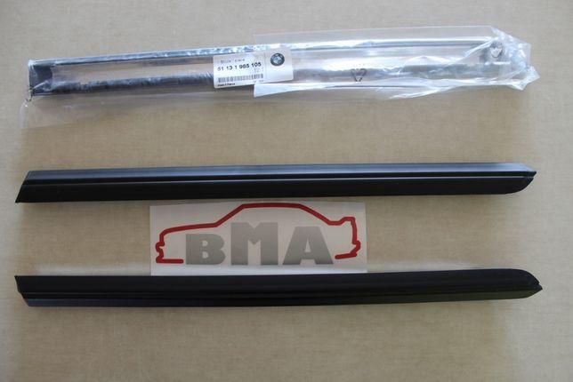 BMW E30 COUPE Listwa Prawa Lewa Błotnika Tylnego Tył Schadow Nowa BMA