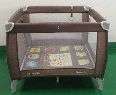 Детский манежквадратный складной Carrello Grande 9204/1 с матрасиком