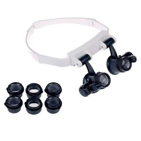 Бинокулярные очки с LED подсветкой TH-9202(бинокуляры, ювелирные очки)