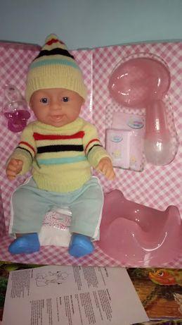 Кукла пупс Ляля маленькая (аналог Беби берн)