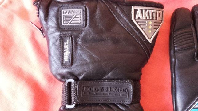 Rękawiczki skórzane AKITO Kevlar roz 9,5,L