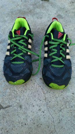 Ténis Adidas Homem Atletismo verdes/preto