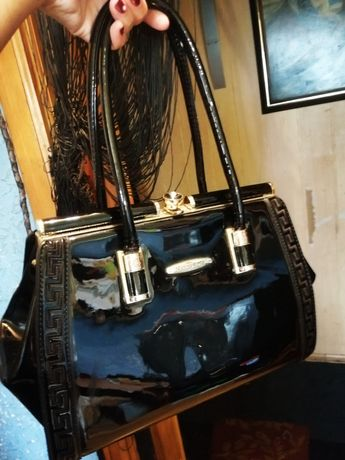 Лаковая сумка Marino Rose