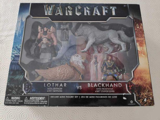 Vendo pack figuras Warcraft - Lothar vs. Blackhand - em caixa