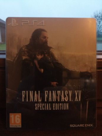 Final Fantasy XV 15 Steelbook PS4