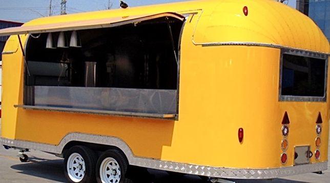 Przyczepa gastronomiczna SHINE - Food Truck foodtruck lody gofry kawa