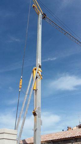Dzwig Wieżowy Zuraw budowlany, samomontujący