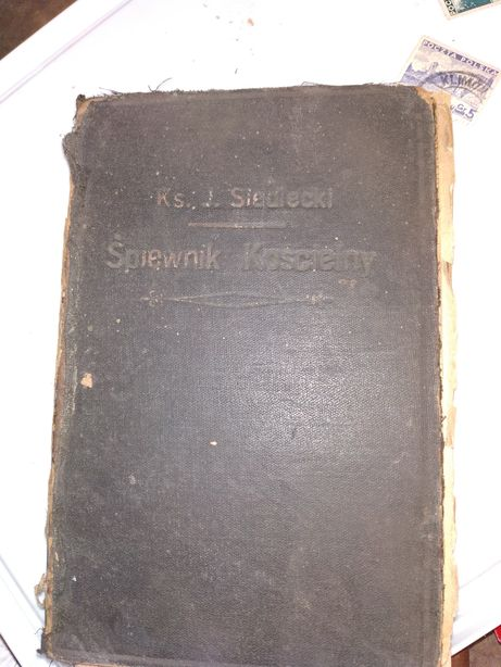 Śpiewnik kościelny, 1928r
