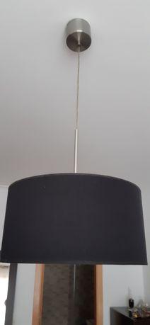 Candeeiro de abajur preto