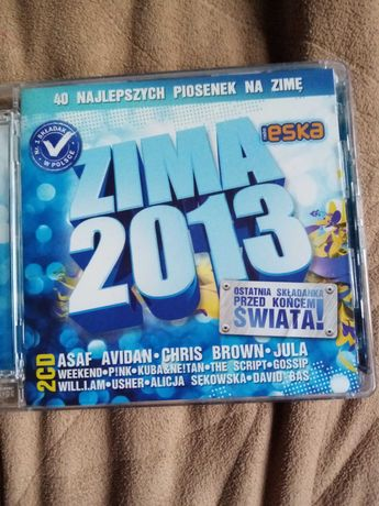 Płyta CD Zima 2013 eska