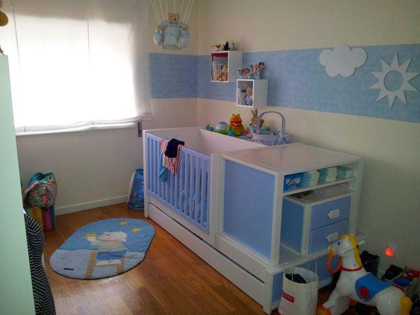 Mobília Transformável / Cama / Berço para quarto de criança