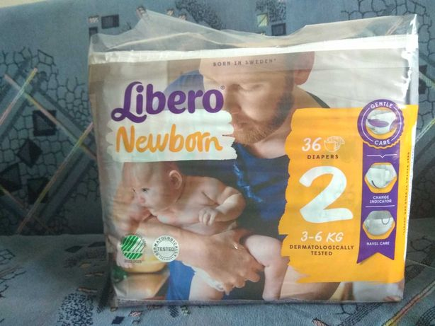 Підгузники Libero Newborn 2(ньюборн 2), 36 шт.