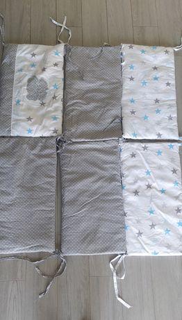 Бортики для детской кроватки, набор (6 шт) + Подарок