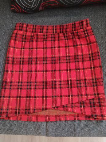 Spódniczka mini czerwona