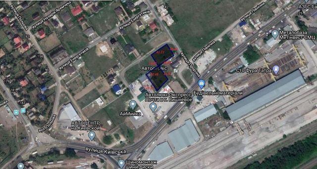 Аренда Продажа участок Фасад дороги Вишневое Петровск12сот+13сот+12сот