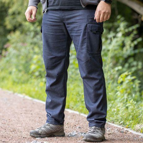 Тактичні карго джинсові штани великих розмірів (від 54 до 64р)