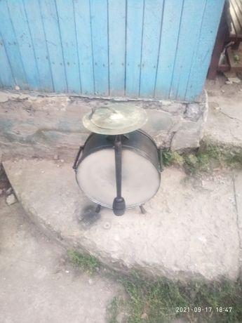 барабан    ссср      .антикварный