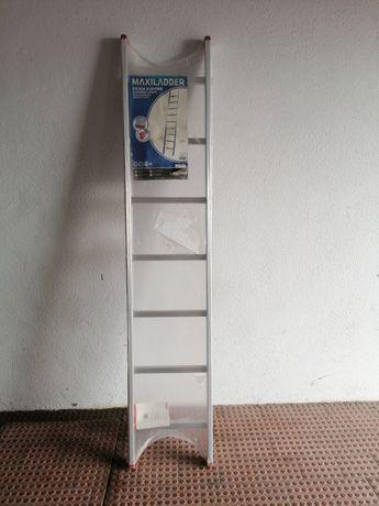 Escada aluminio 2 metros com 7 degraus NOVA