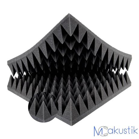 Mata pianka gąbka piramidka 50x50x10