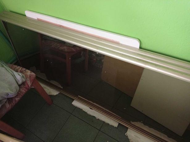 Lustra do zabudowy szafy przesuwnej 2,57x70cm -3szt