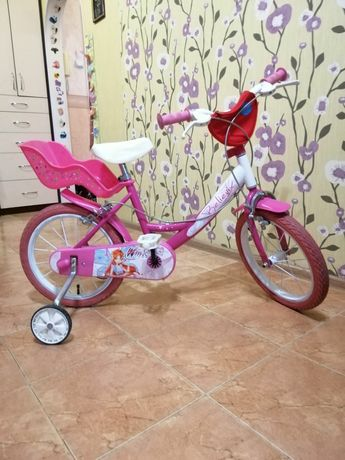 Велосипед Dino Bikes 16 дюймов. Winks Believix. Состояние отличное.