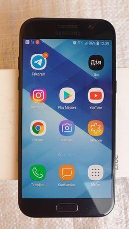 смартфон Samsung Galaxy A5 2017 Duos SM-A520 коробка-документ