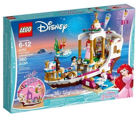 Lego Disney Princess Королевский праздничный корабль Ариэль 41153