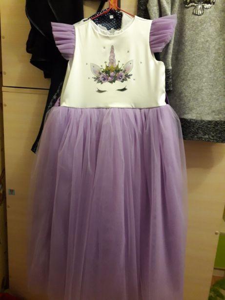 Платье единорожки