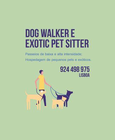 Dog Walker e Exotic/Pet Sitting