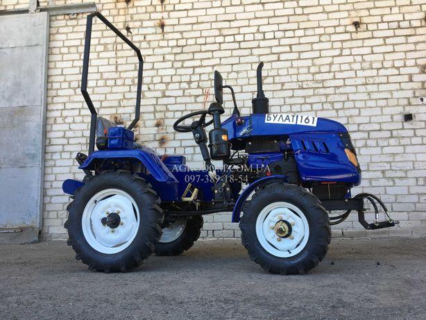 Трактор DW 160 PREMIUM +фреза+плуг,Мототрактор Міні трактор,Доставка