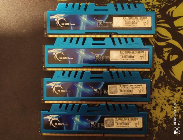 Gskill DDR3 4X4GB 1600mhz CL9 1.35v - Total 16GB