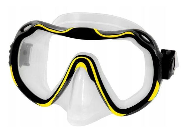 Maska do nurkowania JAVA har szyba silikon zaworek