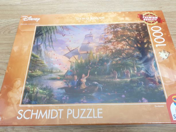 Puzzle Disney/ Kinkade Pocahontas 1000