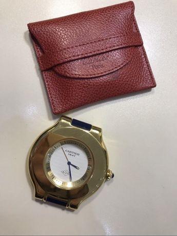 Кварцевые часы для путешествий Must De Cartier
