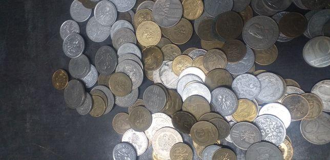 Posiadam dużą ilość monet z PRL 640 szt.