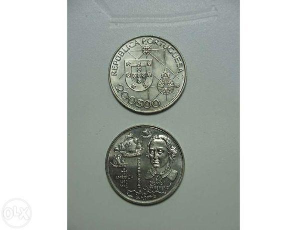 Colecção de 22+3 moedas de 200$00