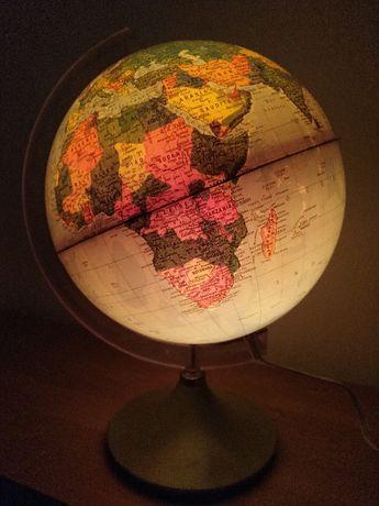 Глобус з підсвіткою (Італія) - 70-80 р.р. / с подсветкой