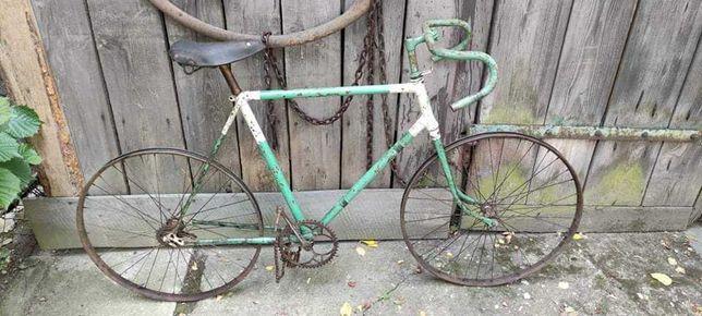 Zabytkowy rower, stary, polski, kolarzówka ,sportowy