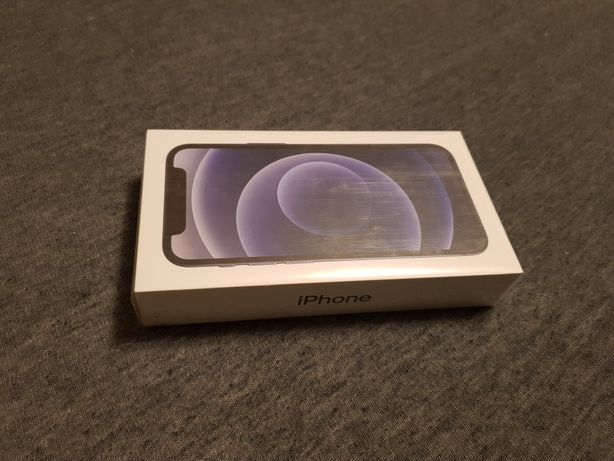 NOWY iPhone 12 mini,Black, 64GB