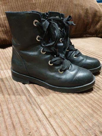 Zara botki czarne 31