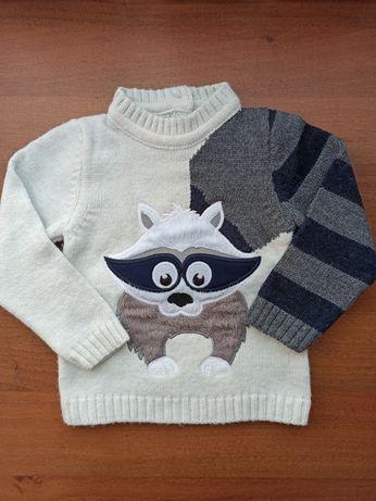 Теплый свитерок для мальчика