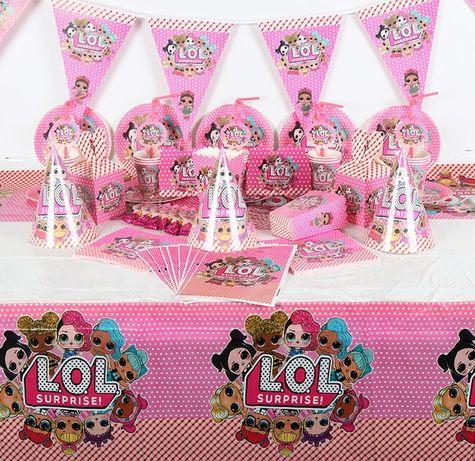 Декор набор куклы , ляльки Лол LOL (кенди бар, шары)